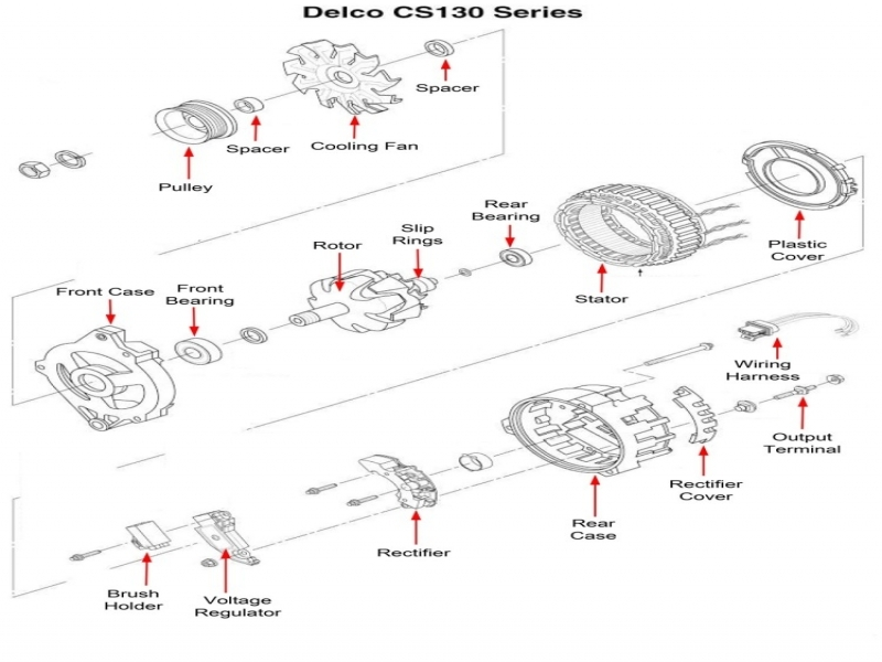 12si Alternator Wiring Electrical Circuit Electrical Wiring Diagram