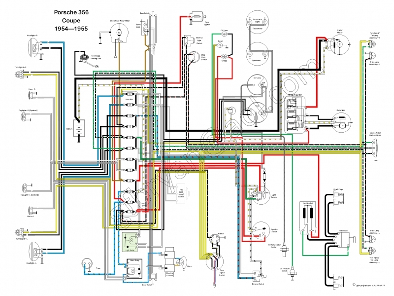 Porsche 356 Wiring Harness Get Free Image About