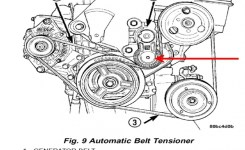 Power Steering Belt Tensioner: Cant Reach The Bolt On 2005 Ddge