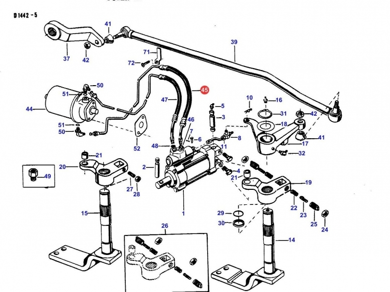 Mey Ferguson 165 Parts Diagram