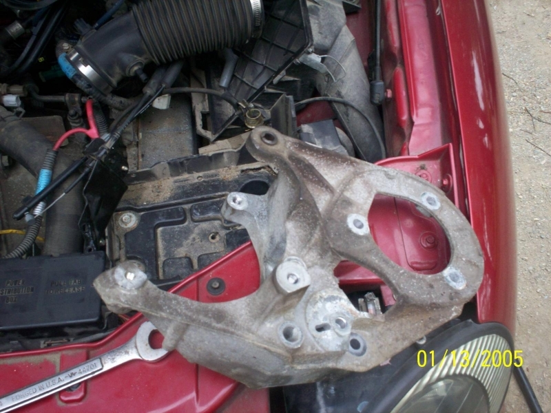2003 Ford Taurus Power Steering Pump Diagram