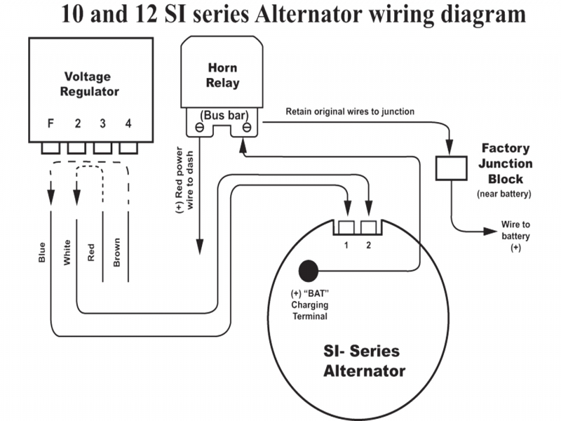 Gm Internal Regulator Alternator Wiring Diagram on ac delco 4 wire alternator wiring diagram