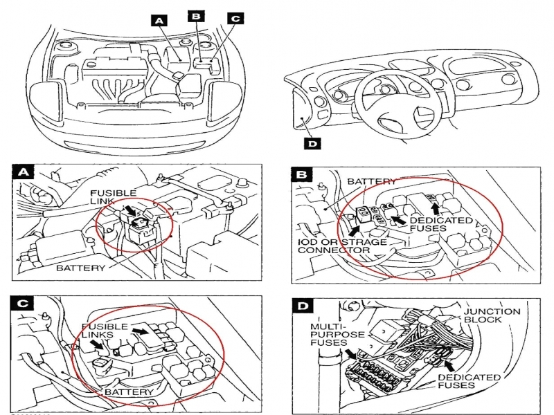 2000 Mitsubishi Eclipse Battery Diagram