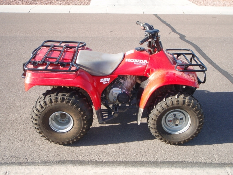 Rare Old Honda    Trx       200    Fourtrax     Wiring    Forums
