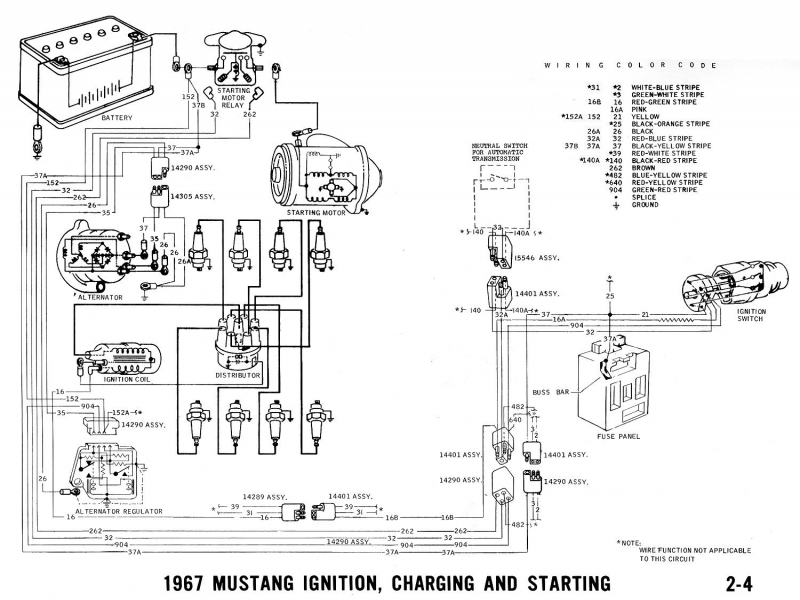 Resistor Wire Bypass - Vintage Mustang Forums