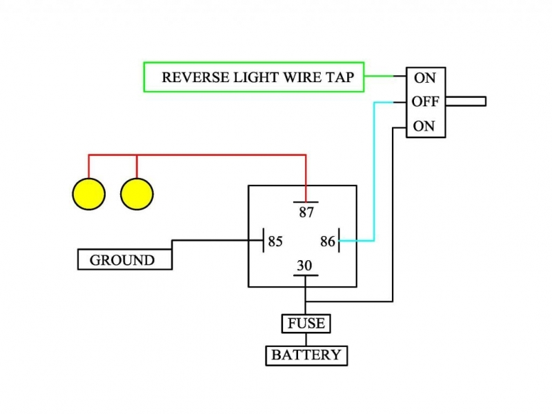 Review My Homework Back Up Light Diagram Tundratalk on Reverse Light Wiring Diagram