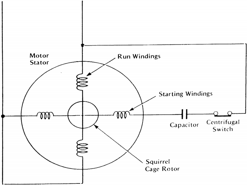 single phase induction motor winding diagram juanribon com