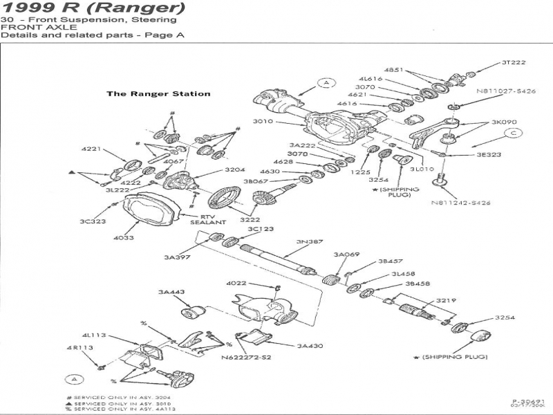 2003 ford explorer front suspension diagram