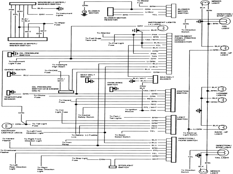 image of 1984 chevy truck alternator wiring diagram 1978 chevy rh megatruckcollection com