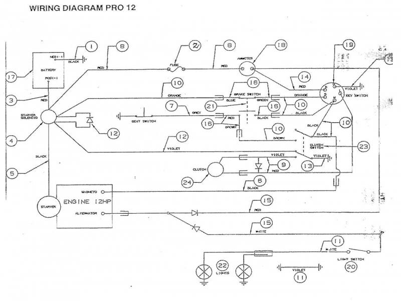 14 Hp Briggs And Stratton Wiring Diagram - Wiring Forums