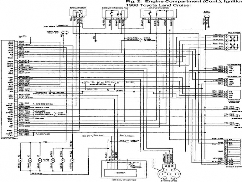 1997 toyota land cruiser engine diagram
