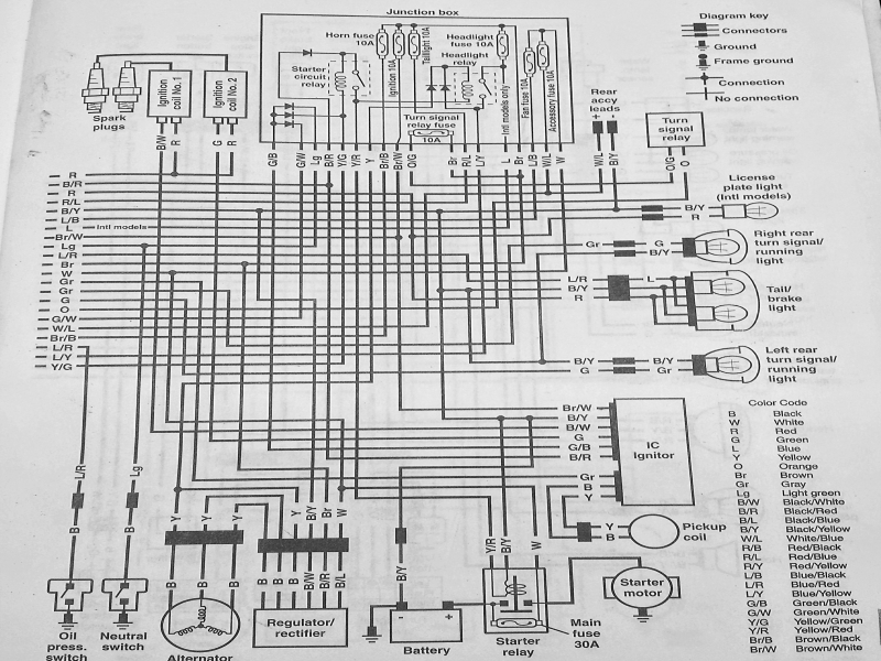 2000 Kawasaki Vulcan 1500 Wiring Diagram  Wiring Forums