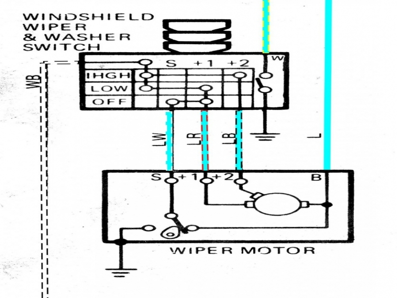 1965 corvette wiper motor wiring diagram