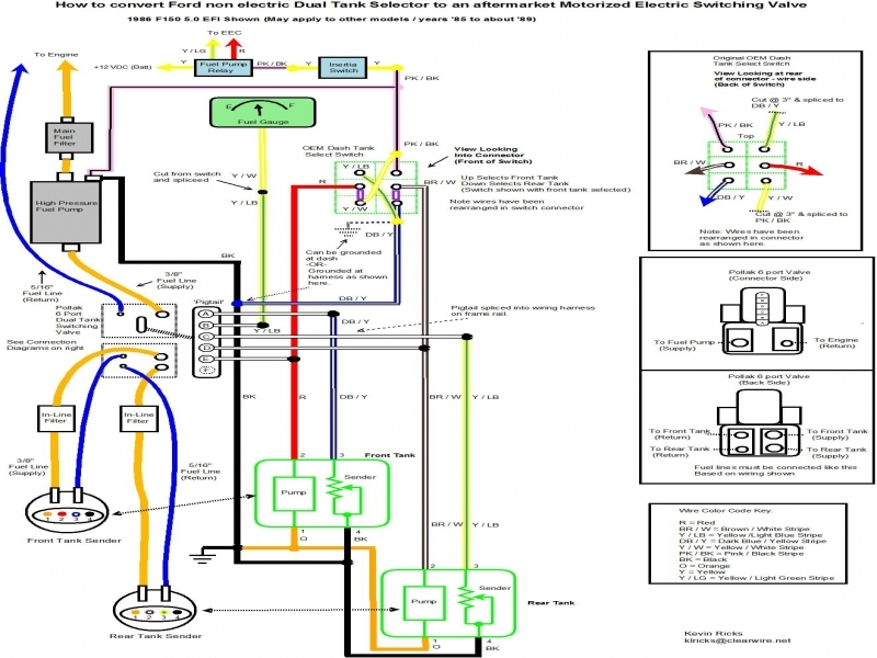 Chevy Truck Dual Tank Fuel Wiring Diagram  Wiring Forums
