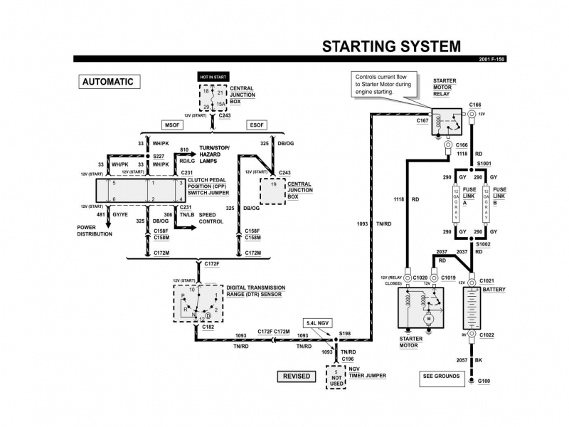 1998 Ford F150 Fuel Pump Wiring Diagram - Wiring Forums