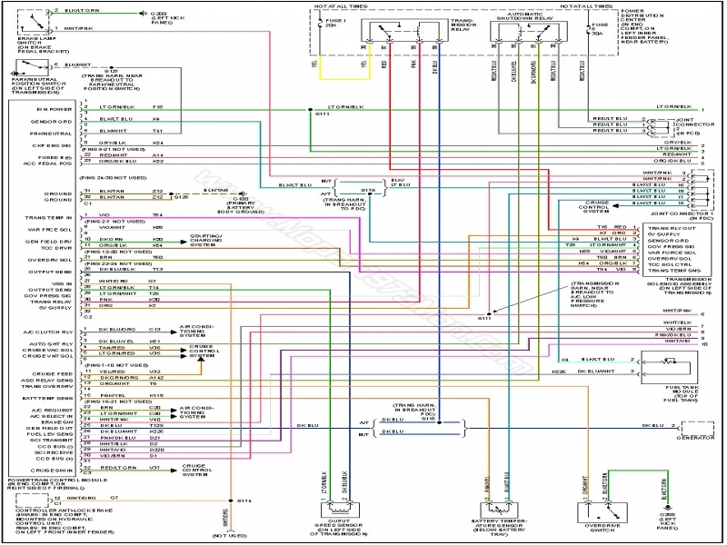 Dodge Ram 2500 Transmission Wiring Diagram  Wiring Forums