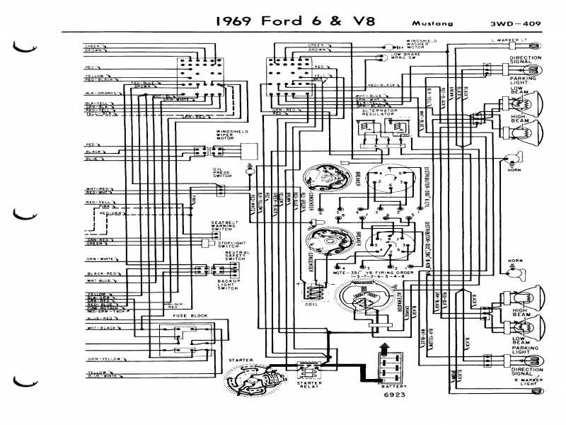 Wiring Diagram For A 1971 Ford Mustang Mach 1 – Readingrat  Wiring Forums