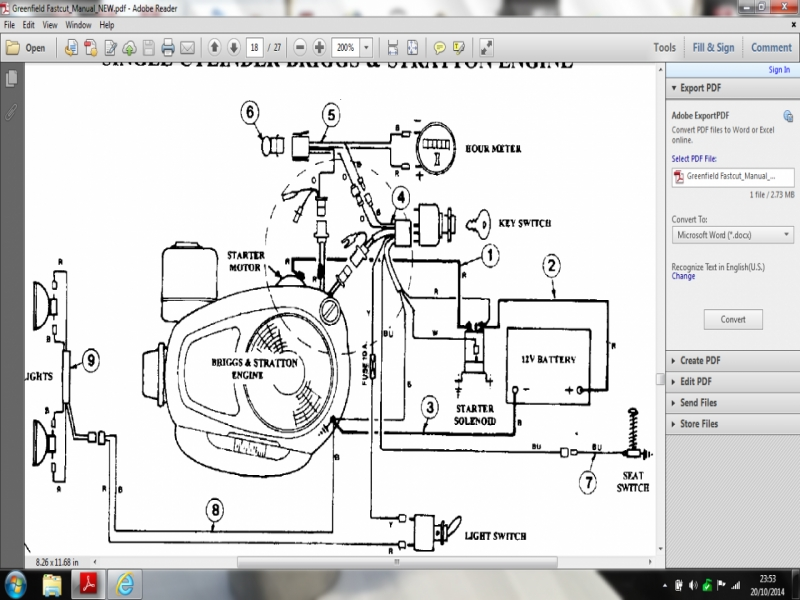 Briggs And Stratton Wiring Diagram 8Hp  Wiring Forums
