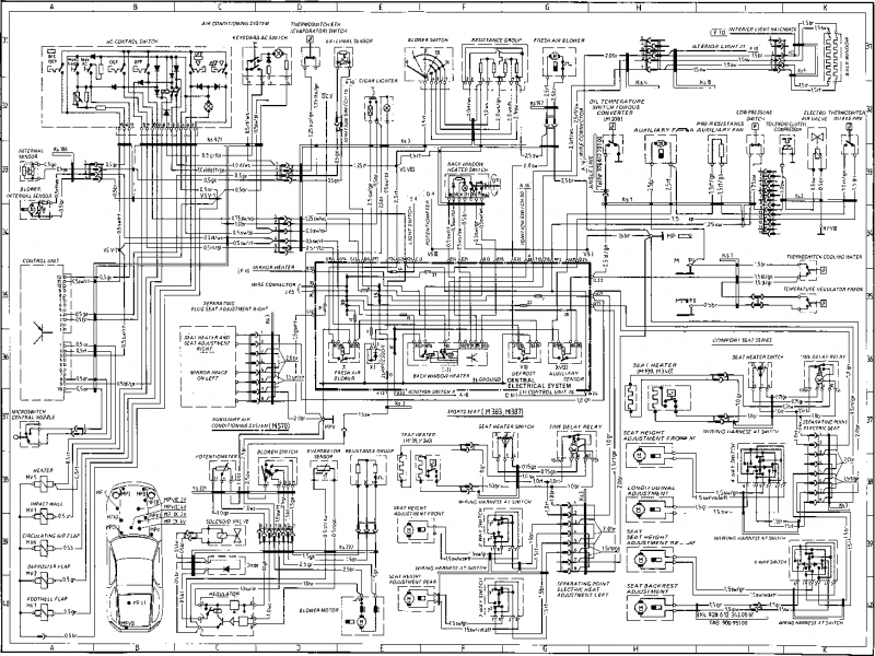 Porsche 928 Wiring Diagram Wiring Diagram Yer