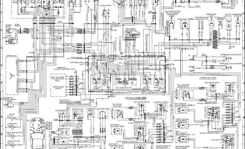 wiring diagram type 928 s model 86 page – porsche 928 repair