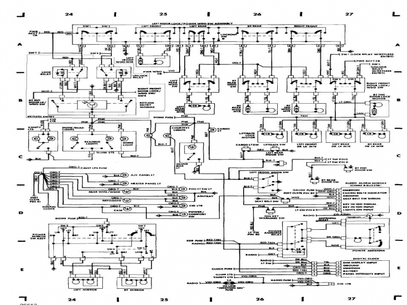 2001 Jeep Grand Cherokee Fuse Box Diagram  Wiring Forums