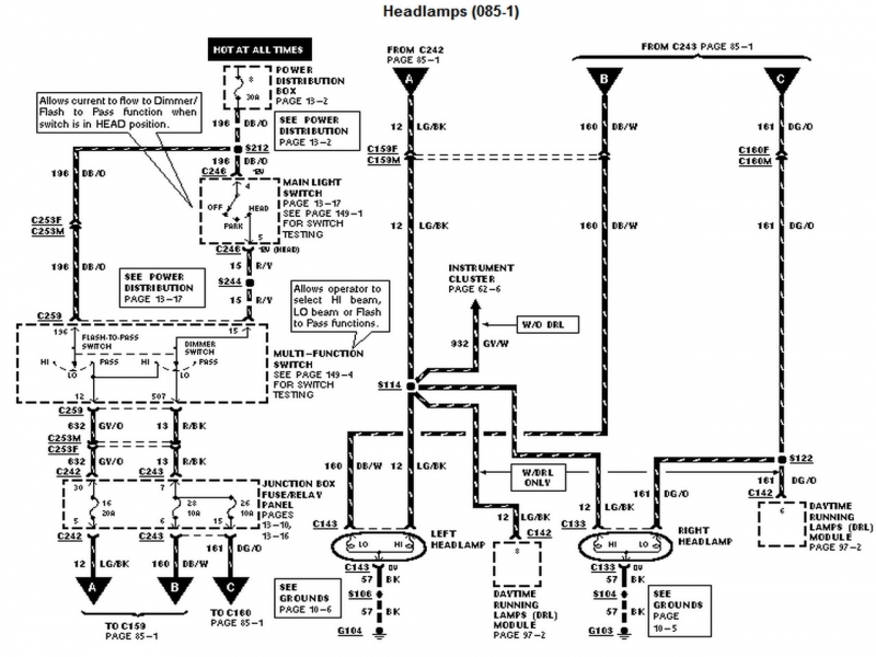 2005 Ford F 150 Electrical Diagram  Wiring Forums