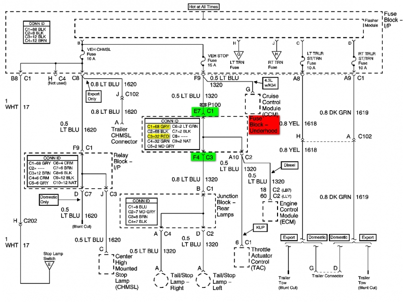 04 chevy silverado bose wiring diagram - wiring forums 04 silverado trailer wiring diagram 04 silverado radio wiring diagram