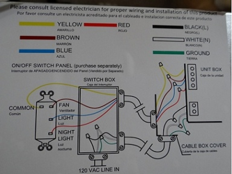 Wiring Diagram For Ceiling Pull Switch