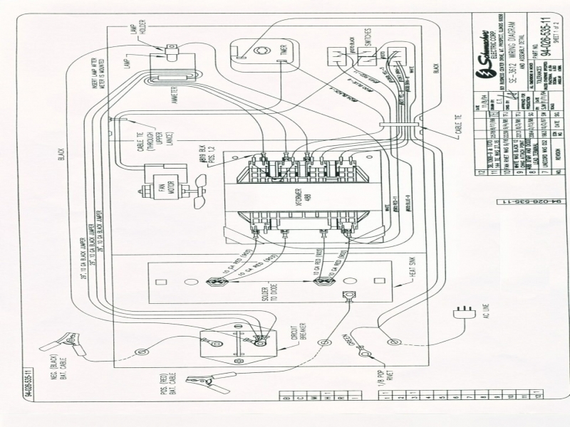 Electric Motor Wiring Diagram Rectifier