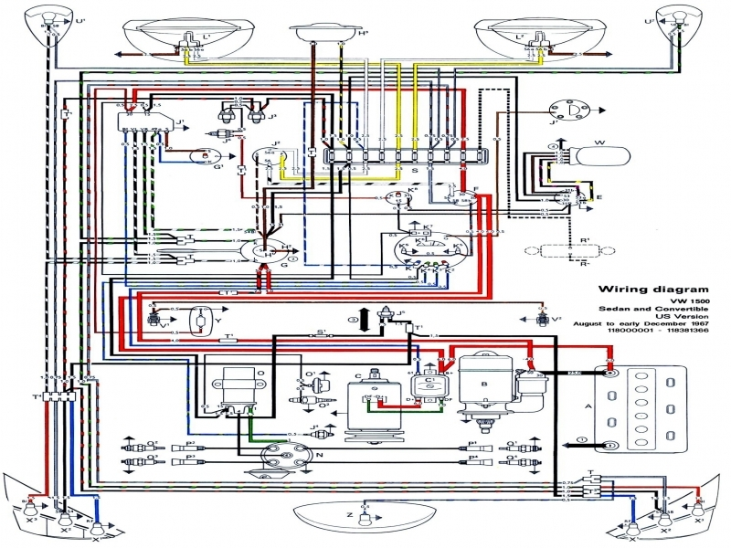 1973 vw engine wiring 1973 vw van wiring diagram