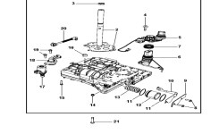 Wiring Diagrams : Valve Body & Related Parts For 2008 Chrysler