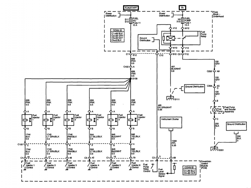 Buick Rendezvous Body Control Module Diagram