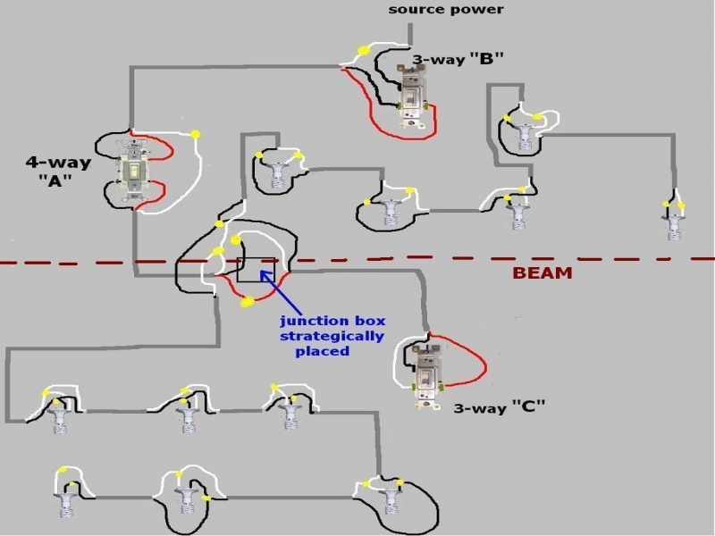 Multiple outlet wiring diagram great multiple electrical outlet wiring diagram photos rh thetada com cheapraybanclubmaster Choice Image