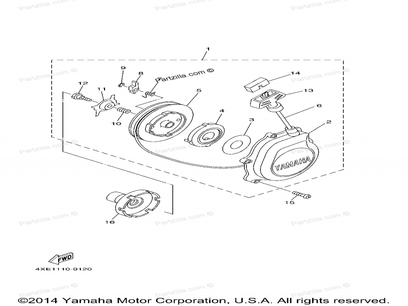 Yamaha Warrior Ignition Switch Wiring Diagram. Diagram