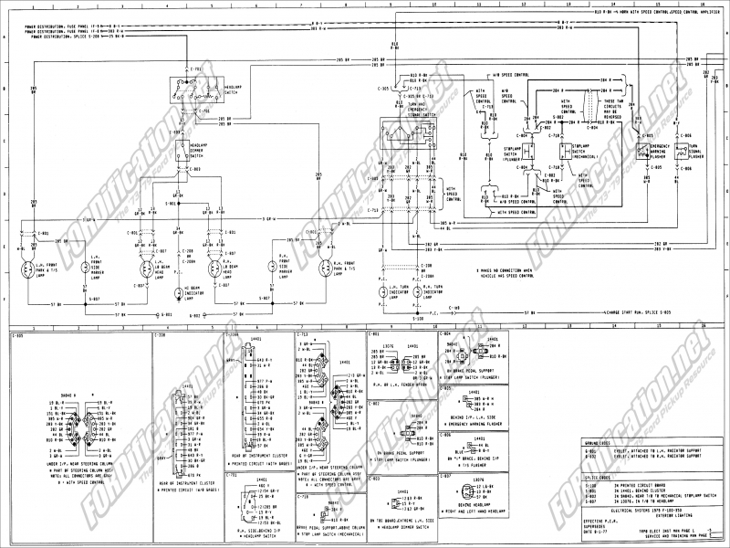 1977 Ford F 150 Steering Diagram  Wiring Forums