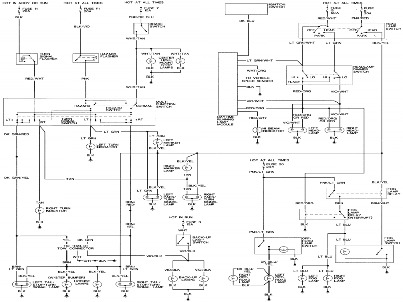 Dodge dakota fuse box diagram wiring forums