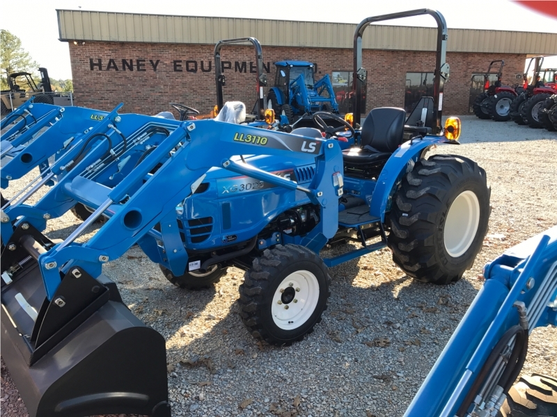 2016 Ls Tractor Xg3025 Tractor, Loader, Box, Cutter And Trailer