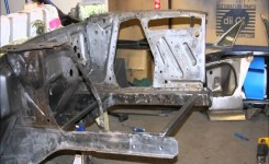 65 Mustang Restoration – Engine Bay Transformation – A Look Back