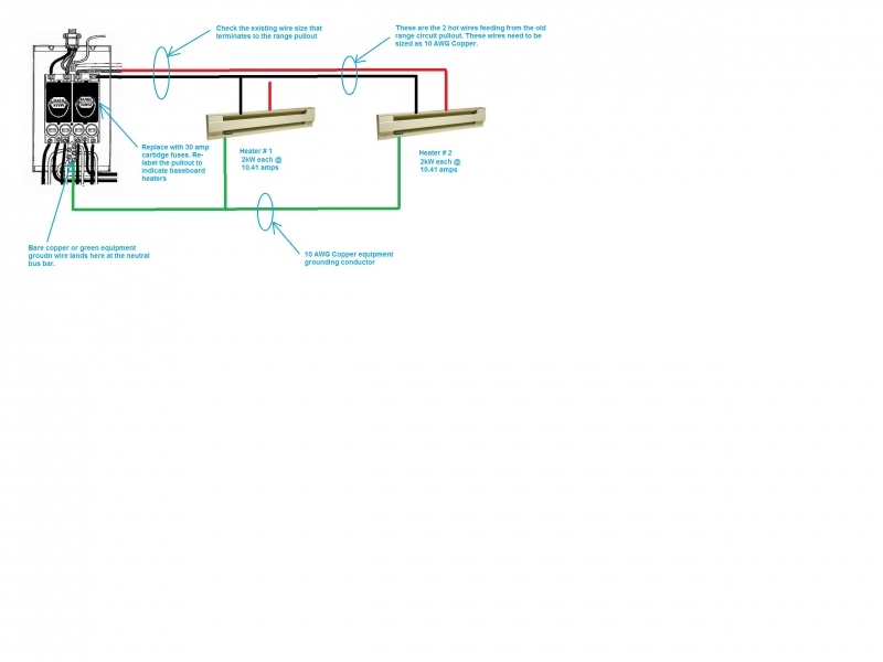 Baseboard Heater Thermostat Wiring Diagram - Gooddy