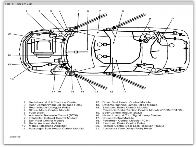 buick body control module location wiring forums. Black Bedroom Furniture Sets. Home Design Ideas
