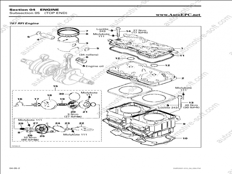 Bombardier Sea-Doo Repair Manual, Service Manual, Shop