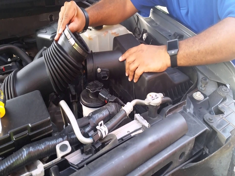 Changing The Air Filter On 2010 F150 - Youtube