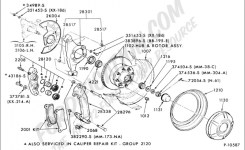 Ford Truck Technical Drawings And Schematics – Section B – Brake