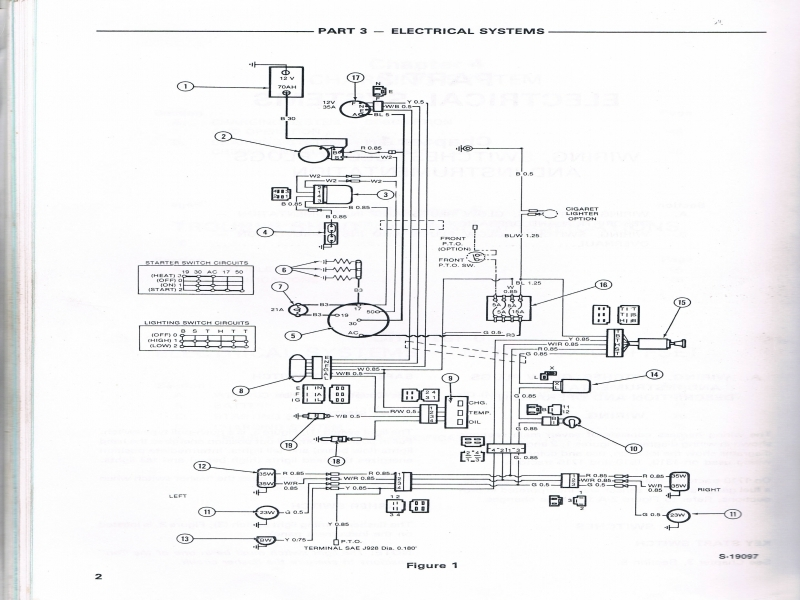 7810 ford tractor electrical diagrams explained wiring diagrams rh dmdelectro co