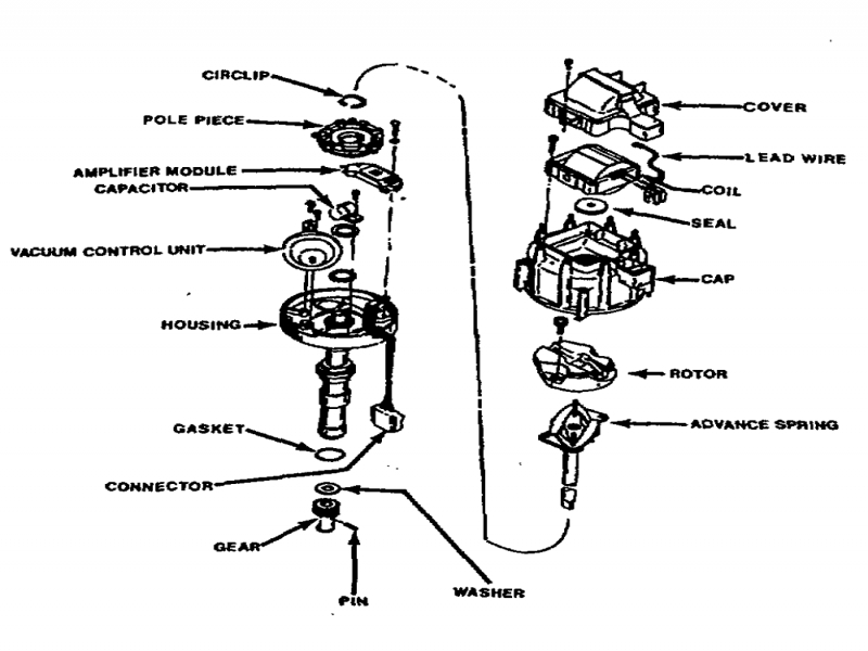 ford hei distributor wiring diagram - wiring forums delco distributor wiring