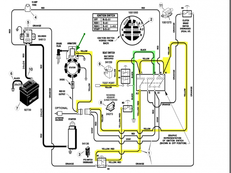 Wiring Diagram For Briggs And Stratton 18 Hp  U2013 The Wiring