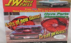 40 Plus J&w Nova Parts Catalog Automobile Car Restoration Chevy Automotive Galerry Photos