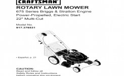 55 Moreover Craftsman Lawn Mower 917.376531 User Guide | Manualsonline Galerry Photos