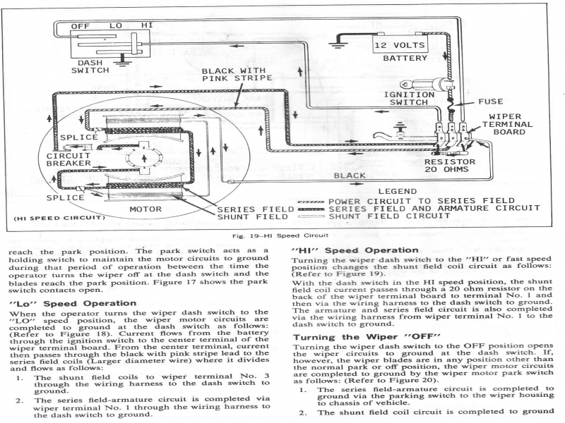 1982 Corvette Wiper Wiring Diagram