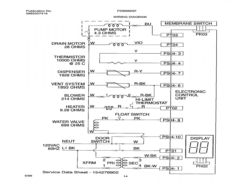 P0207094 00007 In Frigidaire Wiring Diagram - B2Network.co